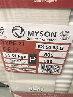 10 x Mixed New Central Heating Radiators Joblot Various Sizes Myson & Stelrad