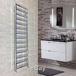 1700 mm High 500 mm Wide Square tube Chrome Heated Towel Rail Radiator Central