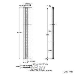 1800x300mm Flat Panel Vertical Radiator Modern Bathroom Central Heated Rad RC236