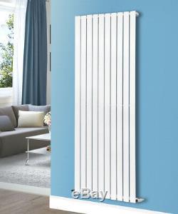 1800x680mm Flat Panel Vertical Designer Modern Central Heating Radiator White