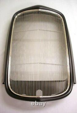 1932 Ford Coupe Roadster Sedan Steel Radiator Shell with Stainless Grille Insert