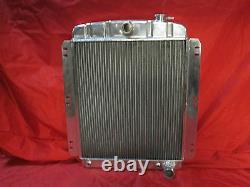1948 1949 1950 1951 1952 1953 1954 Chevy Pickup Aluminum Radiator + Shroud & Fan