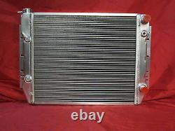 1959-1970 Impala Bel Air Caprice Biscayne Cross Flow Radiator LS Swap Shroud Fan