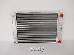 1967 68 69 Camaro Firebird Nova Aluminum Radiator With LS Motor Swap Fan Shroud