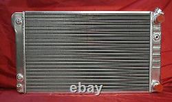 1968-1972 GM A-Body With LS Motor Swap Aluminum Radiator + Shroud & Dual Fans