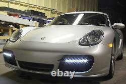 2006/08 Cayman LED Spars with Radiator Guards Fog Lights Running Lights Spears