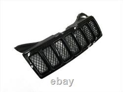 2008-2010 Jeep Grand Cherokee Front Black Radiator Grille Assembly Oem New Mopar