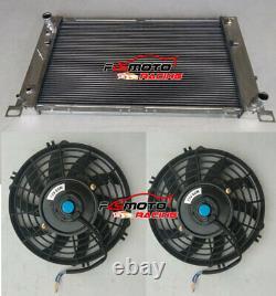 28 For CHEVY SILVERADO 1500 2500 SUBURBAN/TAHOE/YUKON Aluminum Radiator + FANS
