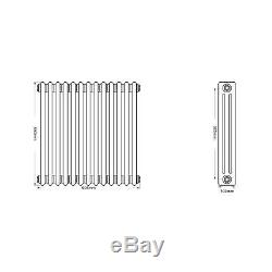 3 Column 600mm h Traditional Cast Iron style Central Heating Old School Radiator