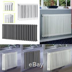 3 Column Radiator Central Heating Horizontal Panel Designer Cast Iron Radiators