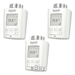 3x AVM FRITZ! DECT 301 Heizkörperthermostat Smart Home Hausautomation DECT