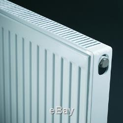 400mm Central Heating Radiators Radiator K2 / 22 Double Panel Double Convector