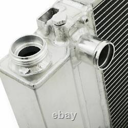 45MM ALUMINIUM ALLOY RADIATOR RAD FOR BMW 3 5 SERIES E30 E36 E34 318i 320i 325i