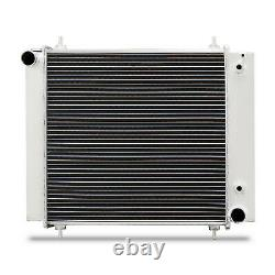 50mm HIGH FLOW ALLOY RACE RADIATOR RAD FOR LAND ROVER DISCOVERY DEFENDER 200 TDI
