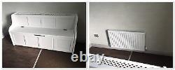 6 ft Radiator Cover Monks Bench/Settle/Pew With Storage (MADE TO ANY SIZE)