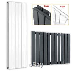600-1800mm Vertical Designer Radiator Single Or Double Central Heating Panel New