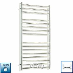 600 x 1200 Stainless Steel Heated Towel Rail Flat Radiator for Central Heating