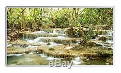 600W Infrarotheizung Wasserfall Stein Bild Elektroheizung Überhitzungsschutz TÜV