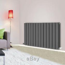 600x884mm Anthracite Flat Panel Designer Radiator Bathroom Central Heating