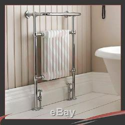 673mm(w) x 963mm(h) Old Colwyn Traditional Towel Rail Radiator Warmer 3410 Btus
