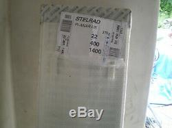 7 new Stelrad central heating radiators