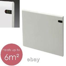 ADAX NEO Electric Panel Heater + Timer, Wall Mounted, 400W, White, Small, Lot 20
