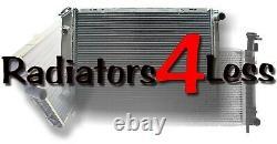 ALUMINUM RADIATOR FAN SHROUD 88-99 CHEVY TRUCK C1500 C2500 28 CORE With 14 FANS