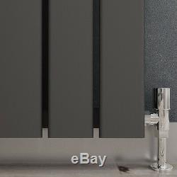 ANTHRACITE HORIZONTAL VERTICAL RADIATORS Designer Central Flat Panel Column
