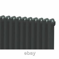 Acova 3-column Horizontal Radiator 600 X 628mm Volcanic 2701btu 55