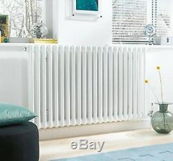 Acova Classic 2-column Horizontal Radiator White 600 X 1042mm 3400btu