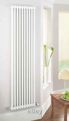 Acova Classic 2-column Vertical Radiator White 2000 X 490mm 4709btu