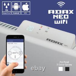 Adax Neo Wifi Smart Electric Radiator / Wifi Panel Heater, Wall Mounted + Timer