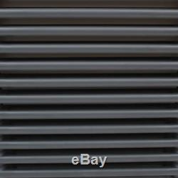 Anthracite Column Double/Triple Radiator Heating Central Rads Cast Iron Style UK