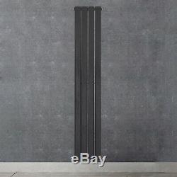 Anthracite Designer Radiator Vertical Horizontal Flat Panel Oval Column Rads