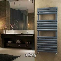 Anthracite Heated Towel Rails Designer Bathroom Radiator Matte-5 Year Guarantee