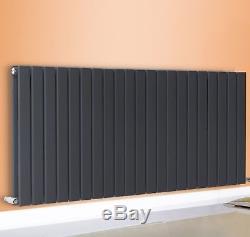 Anthracite Horizontal Designer Radiator Bathroom Central Heating Rads 600x1020mm