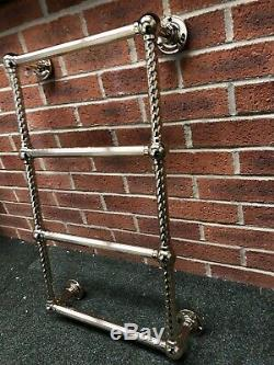 Antique Brass Gold Traditional Heated Towel Radiator Warmer Central Heating