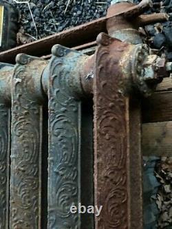 Antique Victorian Cast Iron Radiator