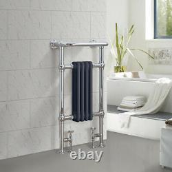 Bathroom Victorian Heated Towel Rail Traditional Column Designer Radiator