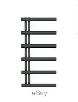 Bisque Chime Towel Radiator Central Heating 1000mm x 500mm Volcanic
