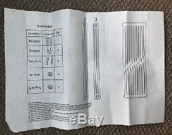 Brand New Traditional White Vertical Column Radiator Central Heating