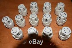 British Gas Central heating and Hot water thermostat and Radiator heads