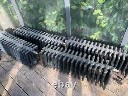 Cast Iron Vintage Low Level Radiators