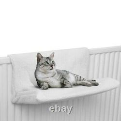 Cat Kitten Hanging Radiator Pet Animal Bed Warm Fleece Basket Cradle Hammock