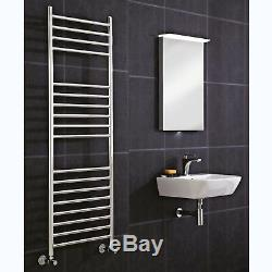 Central Heating Designer Stainless Steel Towel Rail Radiator Lifetime Guarantee