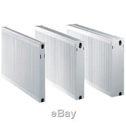 Central Heating Radiators Double Panel Heigh 600mm Length 600mm 1600mm Type 22
