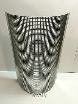Chevrolet Chevy Stainless Steel Radiator Grill / Grille Blank Insert 1932-35
