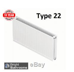 Compact Convector Radiator White Type 22 500X2000 Central Heating