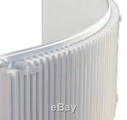 Curved Radiator Bowed bay domestic central heating Radiator 600mm x 1800mm