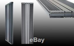 Design Aluminium Paneelheizkörper Vertikal ALU Heizkörper Mittelanschluss STRIPE